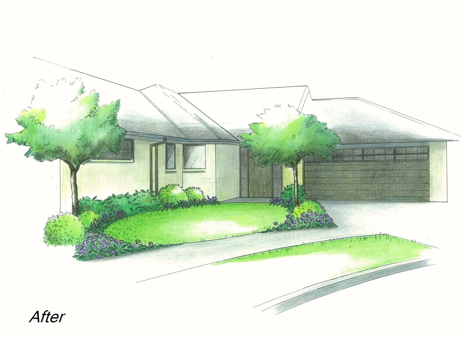 planting-design-for-front-yard